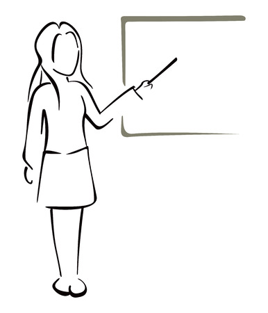 teaches: Teaching in class