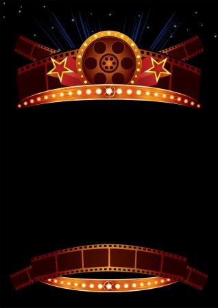Movie poster Vettoriali