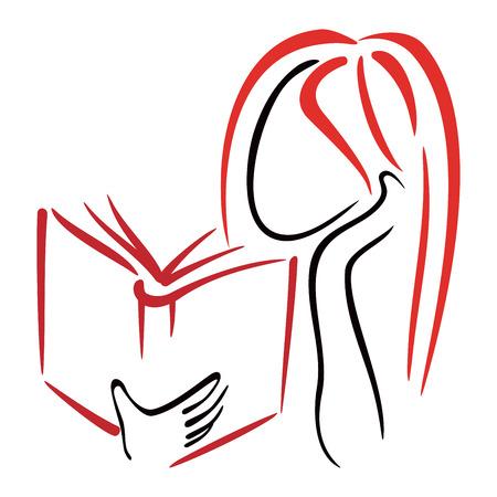 bookshop: Library symbol