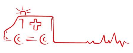 Krankenwagen Rettungssymbol