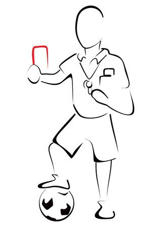 referee: Football referee