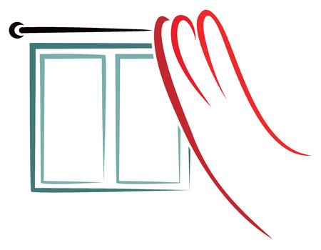 window curtain: Home window