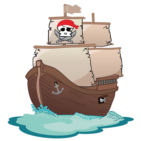 galleon: Corsair sailboat