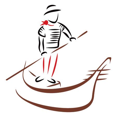 venice gondola: Gondola ride