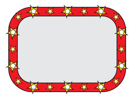 marquee sign: Segno Marquee Vettoriali