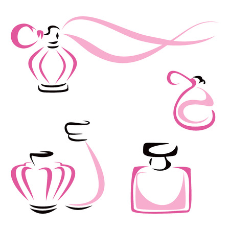 fragrance: Perfume containers