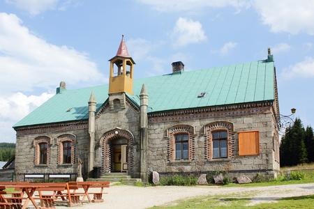 sudetes: Mountain Refuge Orle at Jizera Mountains in Poland
