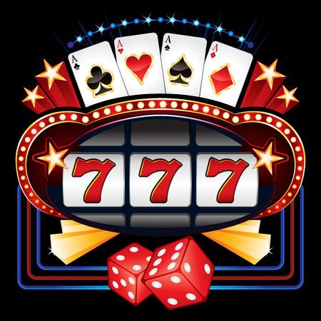 Casino machine Vector