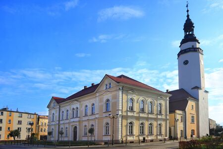 oldtown: City hall in Mirsk Poland