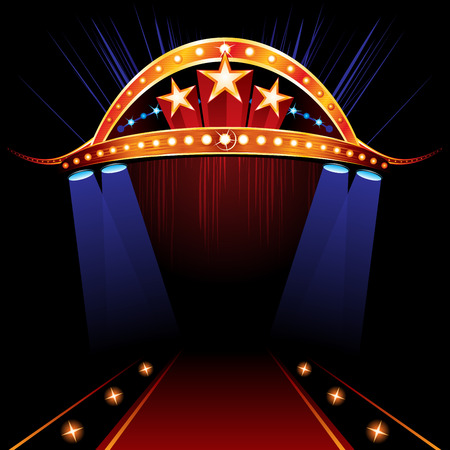 Famous Red Carpet Zdjęcie Seryjne - 53265267