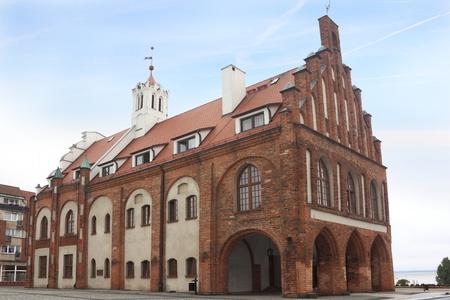 City hall in Kamien Pomorski, Pomerania, Poland Publikacyjne