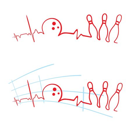 EKG des Bowlingclubs