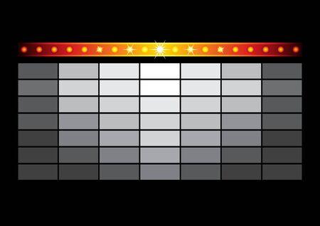 Entertainment blockbuster template Ilustracja
