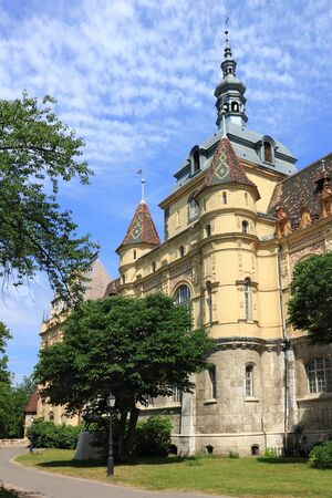 Museum Vajdahunyad in Budapest