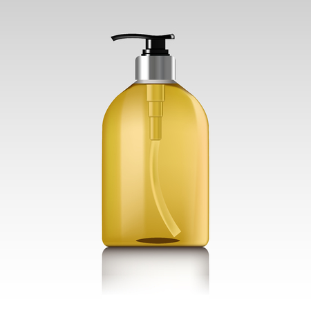Realistic bottle of liquid soap. Illustration