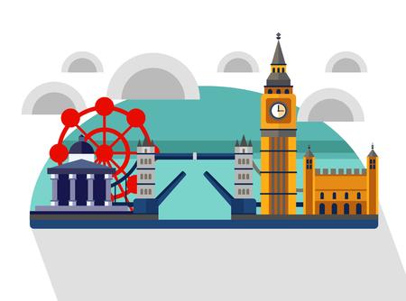 Great Britain. England. London panorama