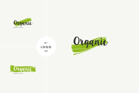 Organic natural product icons and elements collection for food market, ecommerce, organic products promotion, healthy life and premium quality food and drink.