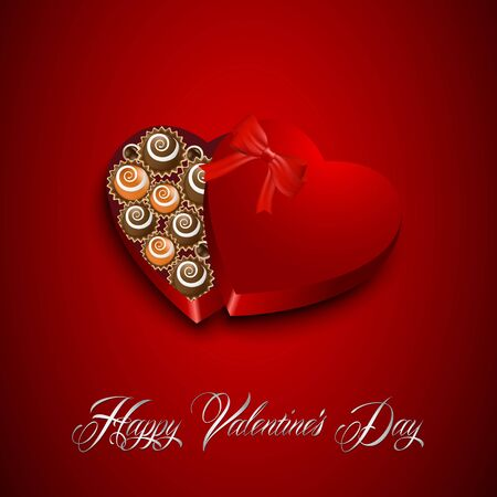 Valentines day candy Vector