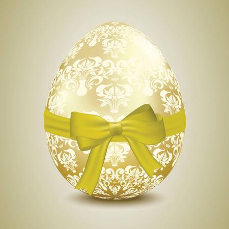 width: Golden egg width pattern Illustration