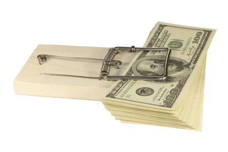 L'argent pris au pi�ge sur le fond noir
