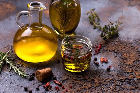 enebro: Aceite de oliva aromatizado con especias