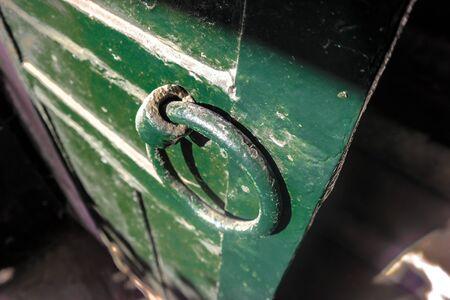 doorknocker: Green Door and Doorknocker