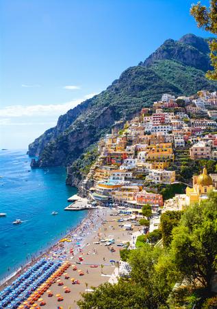 Positano, Amalfi coast, Italy Standard-Bild