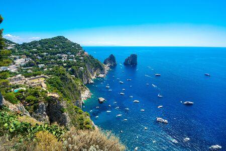 Beautiful Capri island, Italy