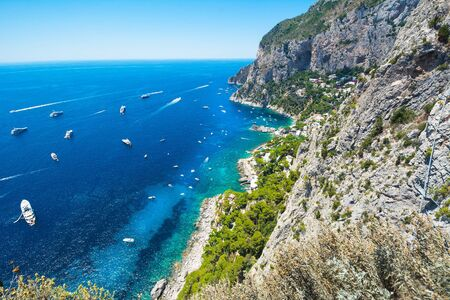 Capr island, Italy Stock Photo