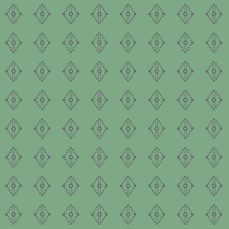 Geometric laurel, sage green lace diamond and rhombus shapes in geometric layout. Seamless repeat pattern for gift wrap, textile, fabric, scrapbooking and fashion. Banque d'images - 125056615