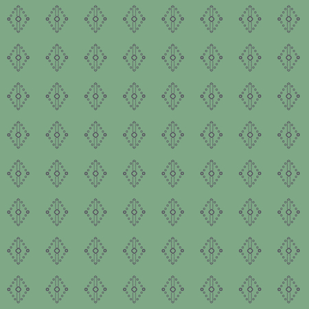 Geometric laurel, sage green lace diamond and rhombus shapes in geometric layout. Seamless repeat pattern for gift wrap, textile, fabric, scrapbooking and fashion. Banque d'images - 125056617
