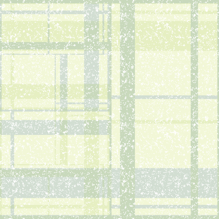 Vector illustration of stylized spatter and plaids. This monochromatic , stylish seamless repeat pattern is perfect for gift, cards, wallpaper, scrapbooking, fabric, interior, paper and art projects. Stockfoto - 119301220
