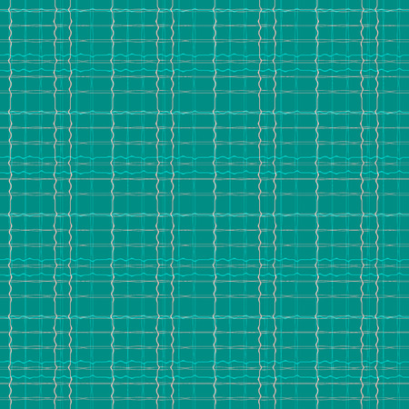 Abstract seamless pattern with warped stripes in pink, tan, green and aqua tones. 写真素材