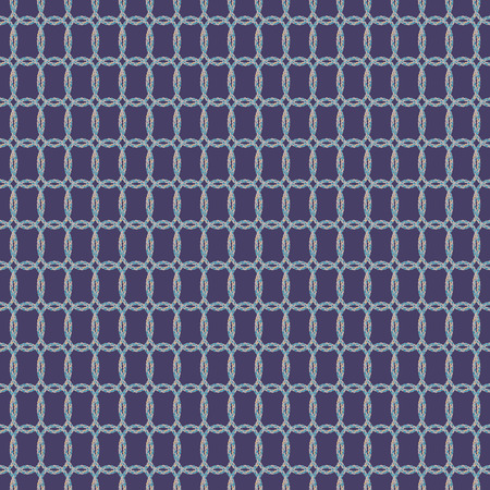Geometric illustration in purple, beige, smoky blue and grey. Vector illustration with stars, circles and rhombuses.