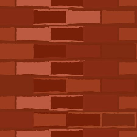 MODERN ABSTRACT GEOMETRIC VECTOR SEAMLESS PATTERN. BACKGROUND WALLPAPER ILLUSTRATION WITH BRICK WALL DRAWN IN STYLIZED WATERCOLOR TECHNIQUE.