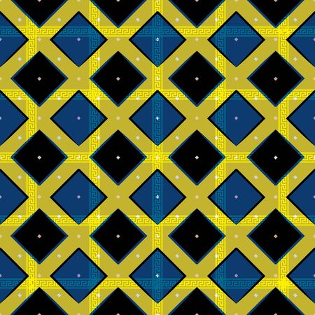 Vector illustration of diagonal rectangles Ilustrace