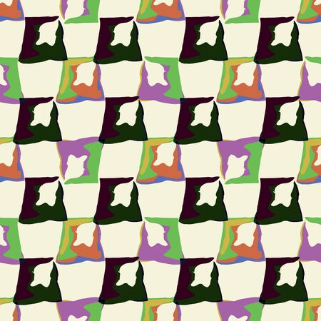 Abstract seamless pattern illustration of rectangles Stok Fotoğraf - 132532082