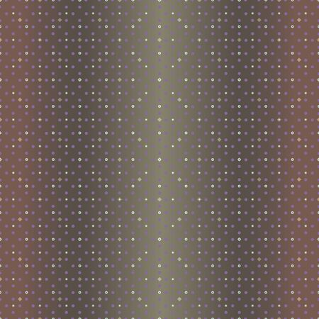 Abstract seamless pattern with small scale squares, rhombuses and diamonds. Vector illustration in shades of yellow, purple and olive.