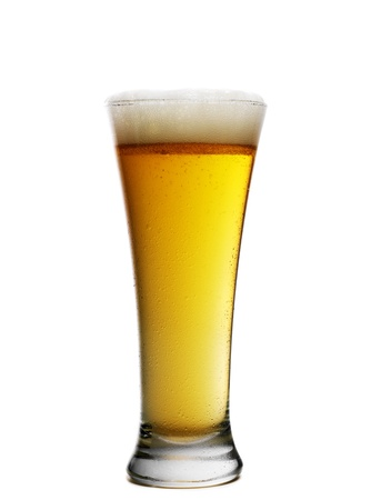 Beer glass photo