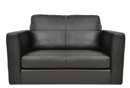 settee: business leather armchair