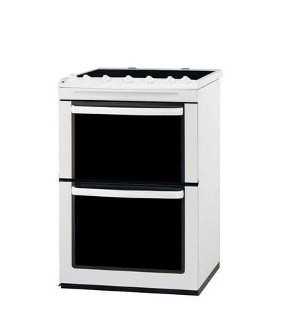 Electric cooker oven isolated photo