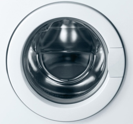 Close-up of washing machine door Stock Photo - 11776497