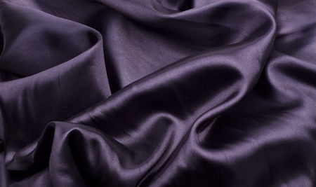black silk: black satin