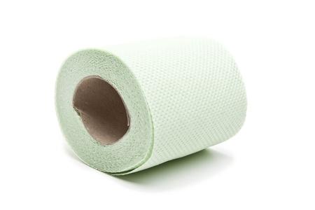 Toilet paper isolated Stock Photo - 11776430