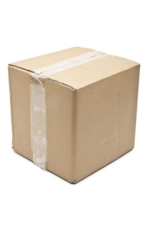 cardboard box carton container Stock Photo - 11776404