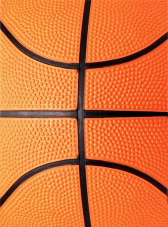 basketball close-up shot or texture photo
