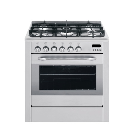 gas stove: gas cooker