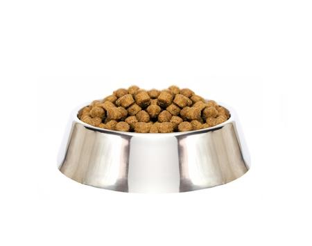 dog food isolated photo