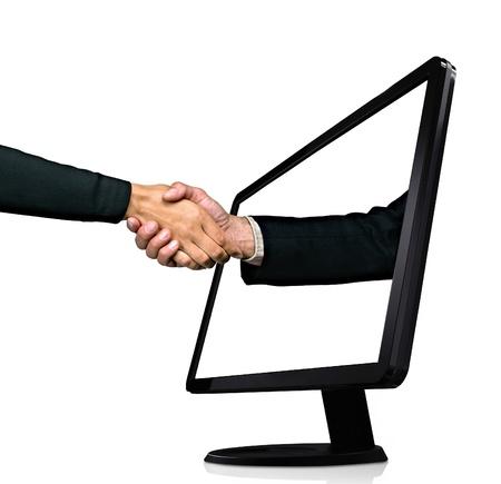 handshake Reklamní fotografie