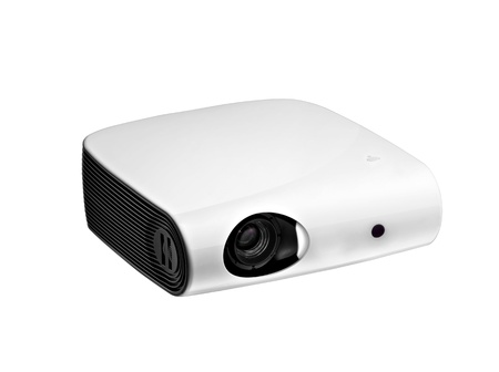 White multimedia projector Stock Photo - 11948652